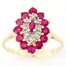 Handmade Ruby Yellow Gold Fine Rings