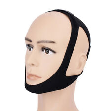 Anti Snore Stop Snoring Sleep Apnea Strap Belt Jaw Solution Chin Support Aid Fas