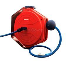 Silvan Selecta Spring Retractable 10m Hose, AirHose, Reel Spot Spray 12v PTO