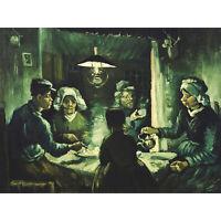 Vincent Van Gogh The Potato Eaters Large Canvas Art Print