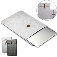 Soft Felt Sleeve Bag Case Notebook Anti-scratch Cover for Macbook Air Pro New
