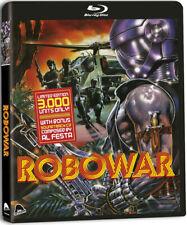 Robowar Blu Ray + CD Severin Bruno Mattei 1988 PREDATOR ROBOCOP ripoff action