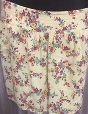 Dotti Women's Above Knee Floral Regular Size Skirts for Women