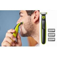 PHILIPS NORELCO ELECTRONIC RECHARGEABLE RAZOR SHAVER SHAVING HAIR ONE BLADE
