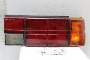 1985-1987 Subaru GL DL Sedan Right Pass Tail Light 22020280R OEM 243 1F6
