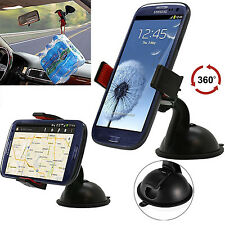 360° Rotating Universal Car Stand Windshield Cell phone Suction Holder Mount