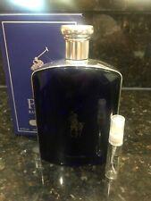 5ml Polo Blue Eau De Parfum Glass Spray Sample 5 Ml