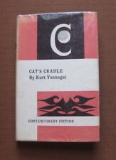 CAT'S CRADLE by Kurt Vonnegut - Gollancz 1965 HCDJ UK - sci-fi