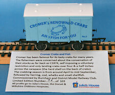 Dapol Cromer's Renowned Crabs & Fish For You Ventilated Van Nº 2 LE of 103 Boxed