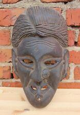 geschnitzte antike Maske - Tanzmaske - Volk der Newar - Zentralnepal - 18