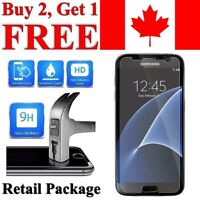 Premium Tempered Glass Screen Protector Cover for Samsung Galaxy S7