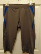 C9 by Champion Men's Compression Biking Shorts. size S, gray, polyester/spandex