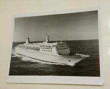 Vintage Press Photo Sitmar Cruise Line Fairsky Ship 8x10