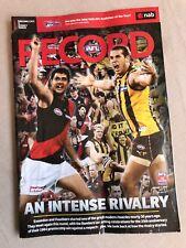 AFL Football Record Geelong V Sydney Round 7 2009