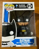Christian Bale Signed DC Super Heroes Batman 01 Funko Pop - JSA MM08098