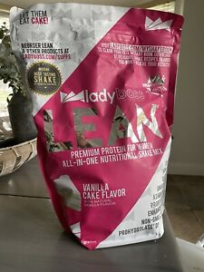 LadyBoss Lean Protein Shake Powder 30 Servings - Vanilla Cake