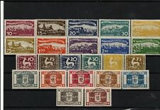 Wurrtemberg 1916-1920 MH 3 complete sets
