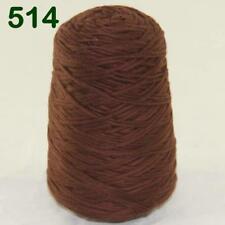 Sale 400g Cone Soft Cotton Chunky Super Bulky Hand Wrap Shawl Knitting Yarn 14
