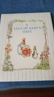 Vintage C R Gibson Co Baby Book A Tale Of Baby's Days Beatrix Potter Album