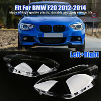 Left Right Side Pre LCI Headlight Headlamp Lens Cover For BMW 1 F20 F21 2012-14