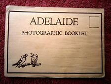 RARE  ADELAIDE   SOUTH  AUSTRALIA  BLACK & WHITE  VIEW  FOLDER    [347]