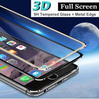 COMPLETO CURVO 3D Vetro temperato proteggi schermo per iPhone 6 6S 7 8 Plus X aw