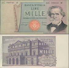 1000 lire 10/08/1977 G. Verdi fds