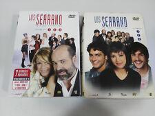 LOS SERRANO TEMPORADA 1 PRIMERA COMPLETA 6 DVD 13 CAPITULOS FRAN PEREA - 2 CAJAS