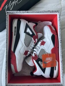 Size 10 - Jordan 4 Retro OG Fire Red 2020