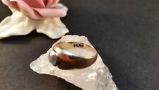 RING GOLD ORO AMARILLO DE 333 8 quilates con TURMALINA tamaño 54 2,3 gramos