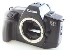 Canon EOS 650 autofocus 35mm film SLR CAMERA BODY ONLY working + battery