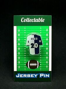 Baltimore Ravens Ed Reed jersey lapel pin-Classic throwback Collectable