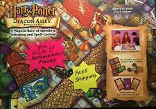 Harry Potter Diagon Alley Game Replacement Pieces You Pick 2001 Free Shipping