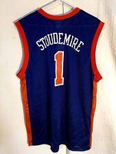 Adidas NBA Jersey New York Knicks Amare Stoudemire Blue Throwback sz L