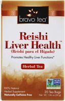 Reishi Liver Health Tea by BRAVO TEA, 20 tea bag