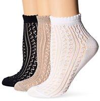 Hanes Womens Socks Comfortsoft Ankle Shoe SZ 5-9- Select SZ/Color.