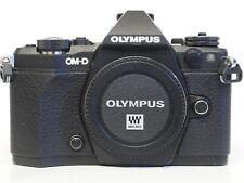 Olympus OM-D E-M5 Mark II 16.1 MP Micro 4/3 Mirrorless Digital Camera Black Body