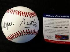 WAYNE NEWTON Autograph Signed MLB Baseball PSA/DNA COA Autograph Auto