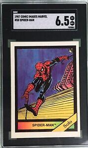 Spider-Man Solo 1987 Comic Images Marvel Universe #58 SGC 6.5