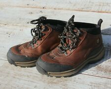 TIMBERLAND Boy's Size 13 Brown Black Backroad Hiking Shoes Boots