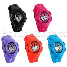 Kids Children Multifunction Calendar Alarm LED Electronic Digital Wrist Watch
