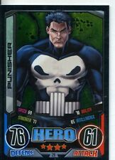 Marvel Hero Attax Series 2 Foil Base Card #29 Punisher
