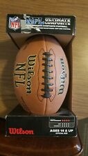 Nfl Ultimate Composite Wilson Leather Football New in Box