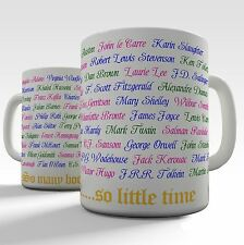 So Many Books So Little Time Novelty Literary Mug