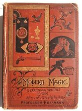 VTG 1890's MAGIC BOOK Modern Magic Professor Hoffmann ART OF CONJURING