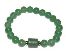 Green Aventurine Bracelet Natural Stones Crystal Beads Prosperity Career Success