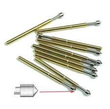 100pcs P75-E2 Dia 1.02mm L=17mm 100g Spring Test Probe Pogo Pin Track Code NEW