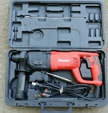 "Bauer SDS Variable Speed Pro Rotary Hammer Drill w/1.5"" Chisel Bit"
