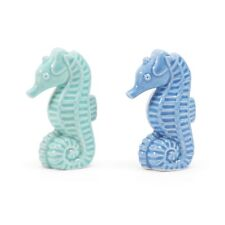 Seahorse Coast Collection Salt & Pepper Set New in Box Dept 56