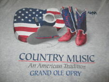 "Music City ""Country Music An American Tradition"" (Med) T-Shirt Grand Ole Opry"